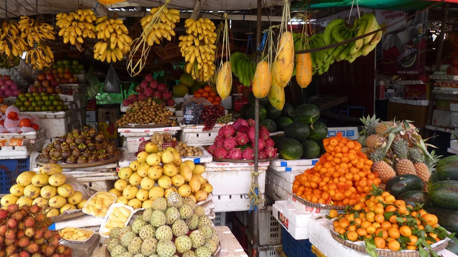 Какие овощи есть в Тае