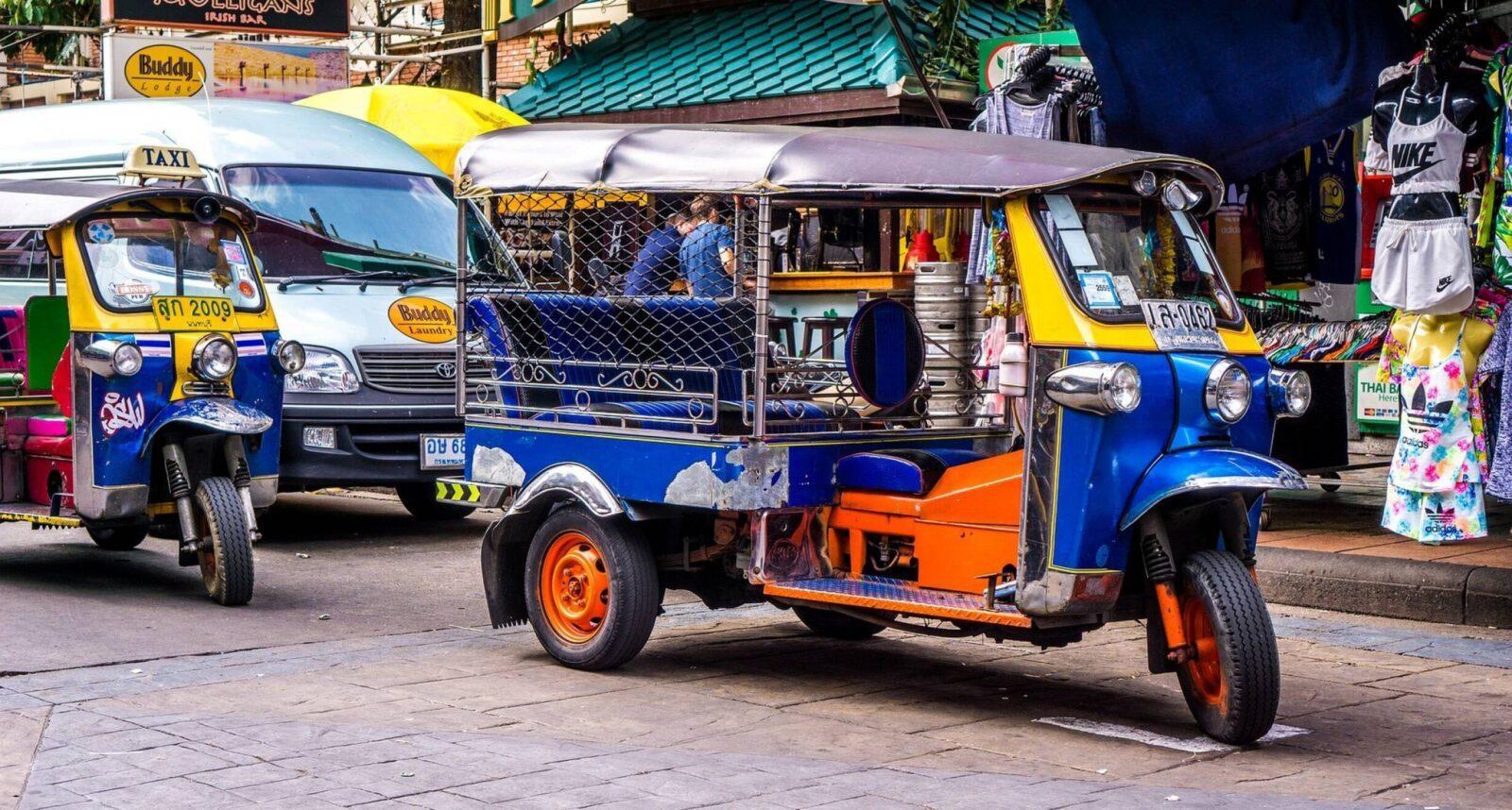 Транспорт для тайцев