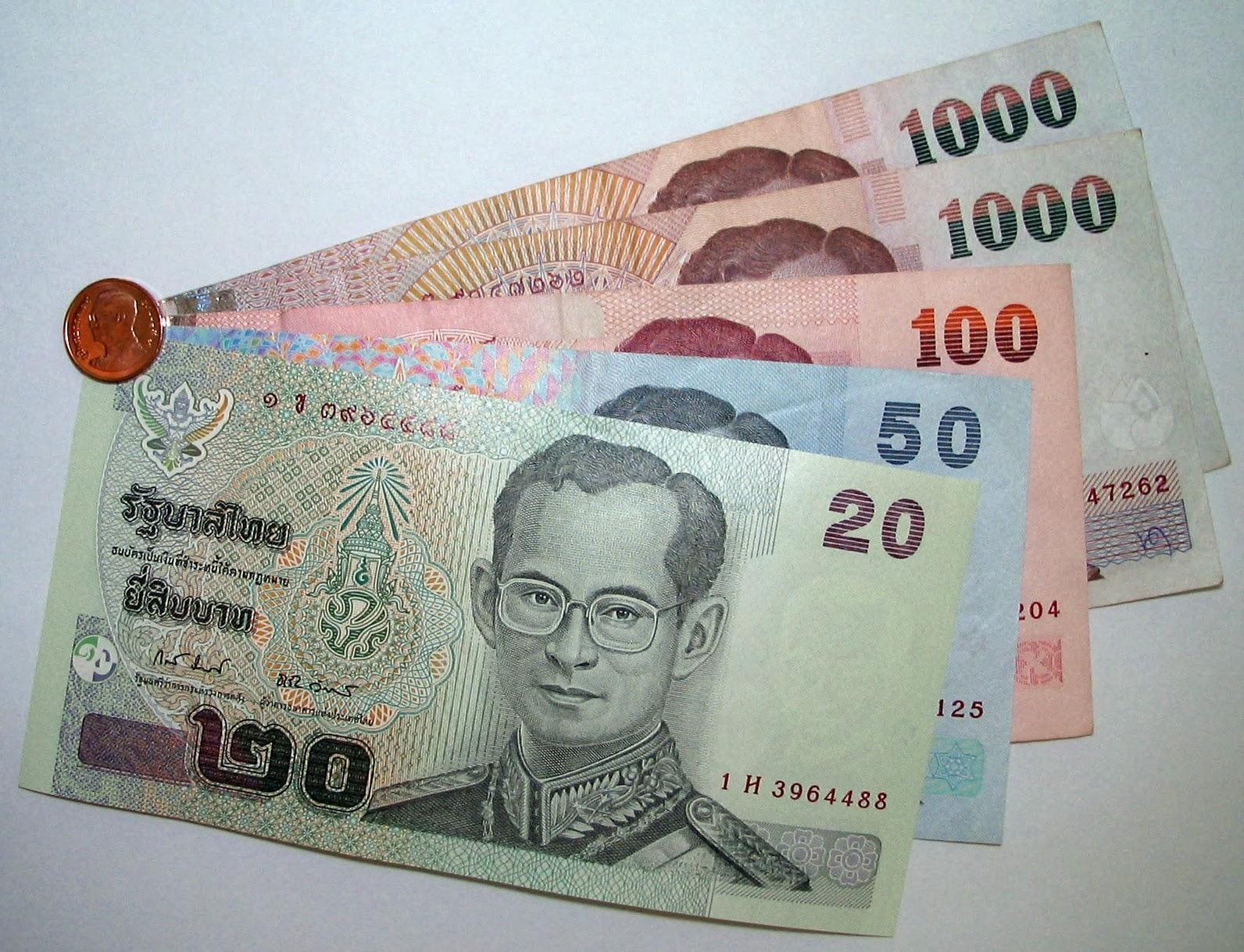 Валюта в Таиланде