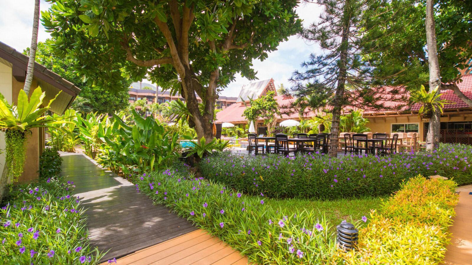 Пляж в Phuket Island View