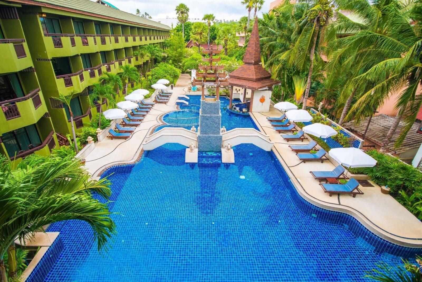 Обзор гостиницы Phuket Island View