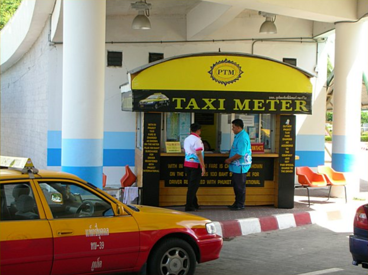 Особенности заказа такси в Таиланде