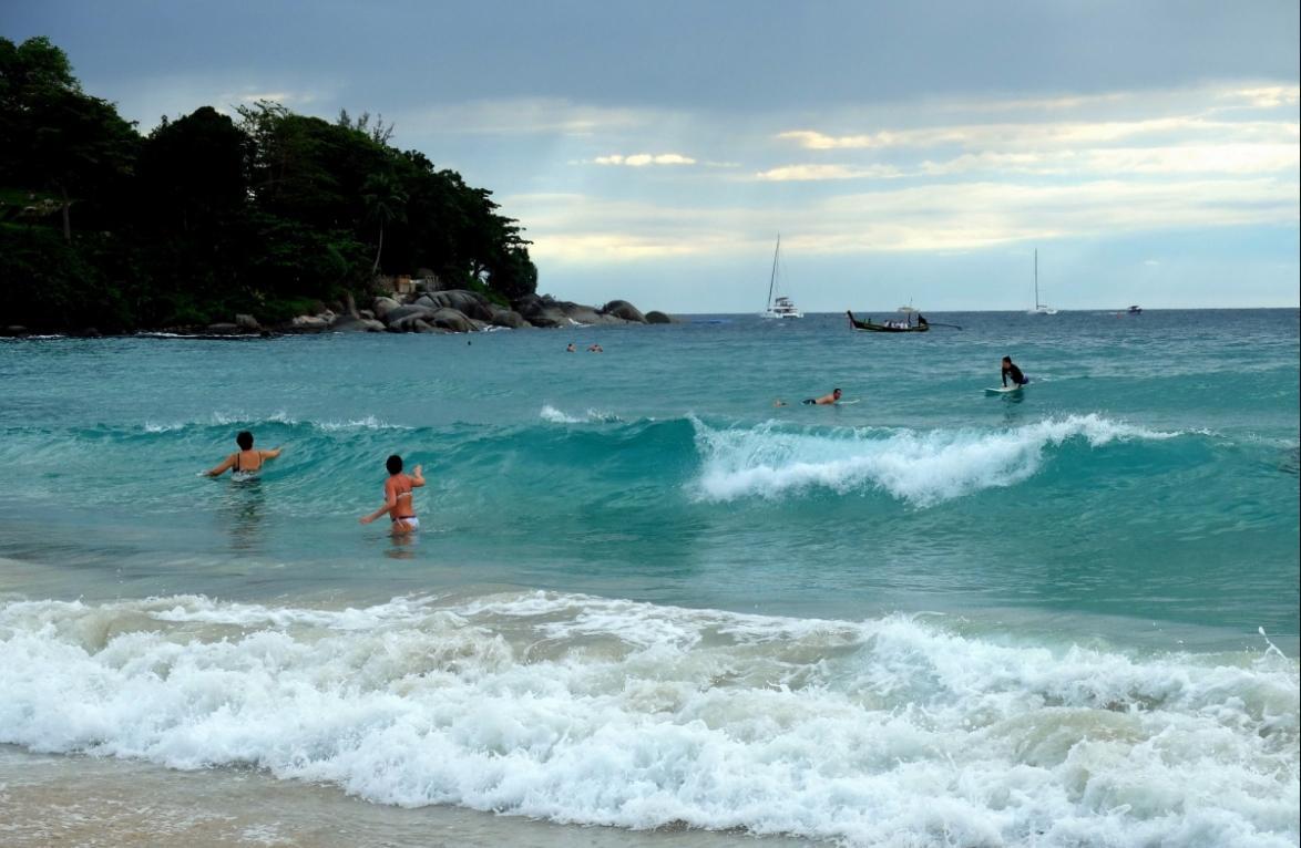 Температура воды моря в июне-июле
