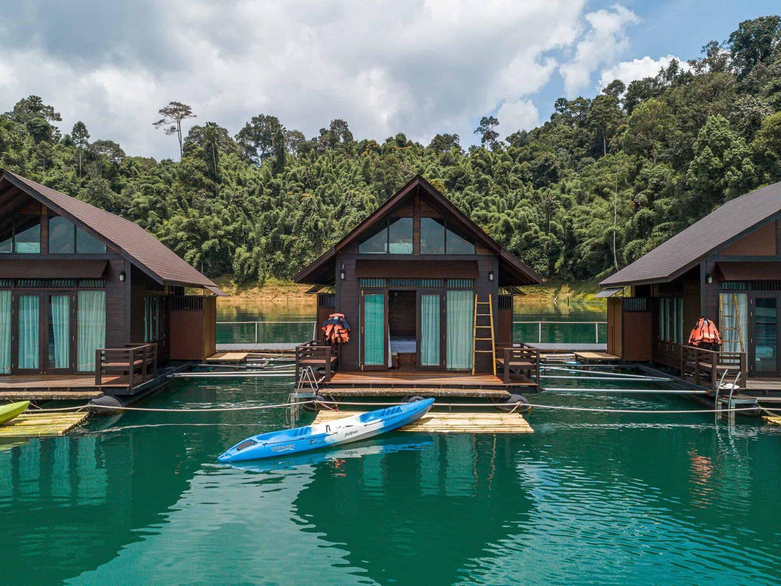 Фото отеля 500 Rai Floating Resort на озере Чео Лан