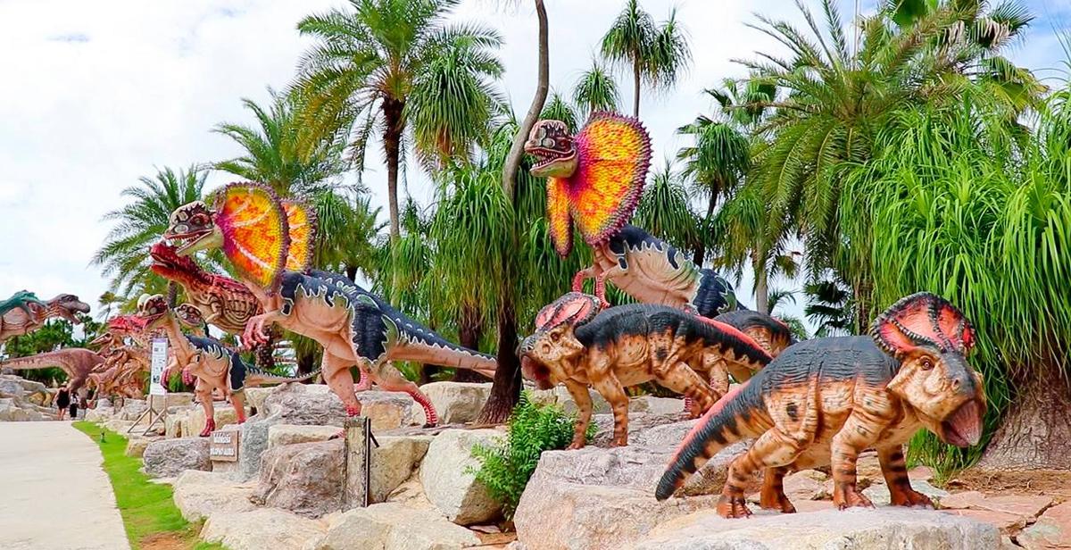 Фото долины динозавров