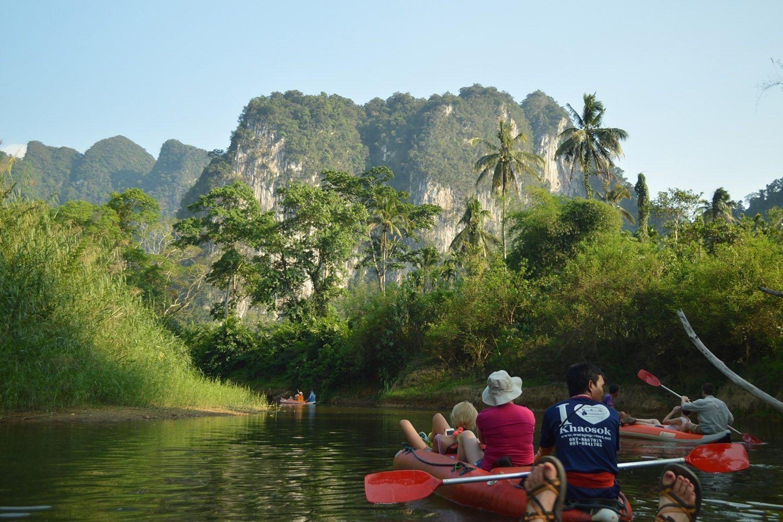 Фото развлечений на озере Чео Лан