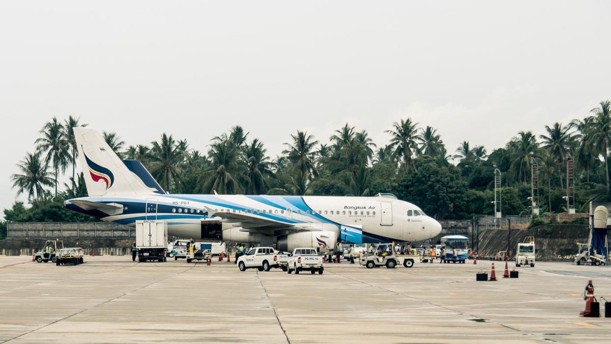 Фото самолета Bangkok Airway