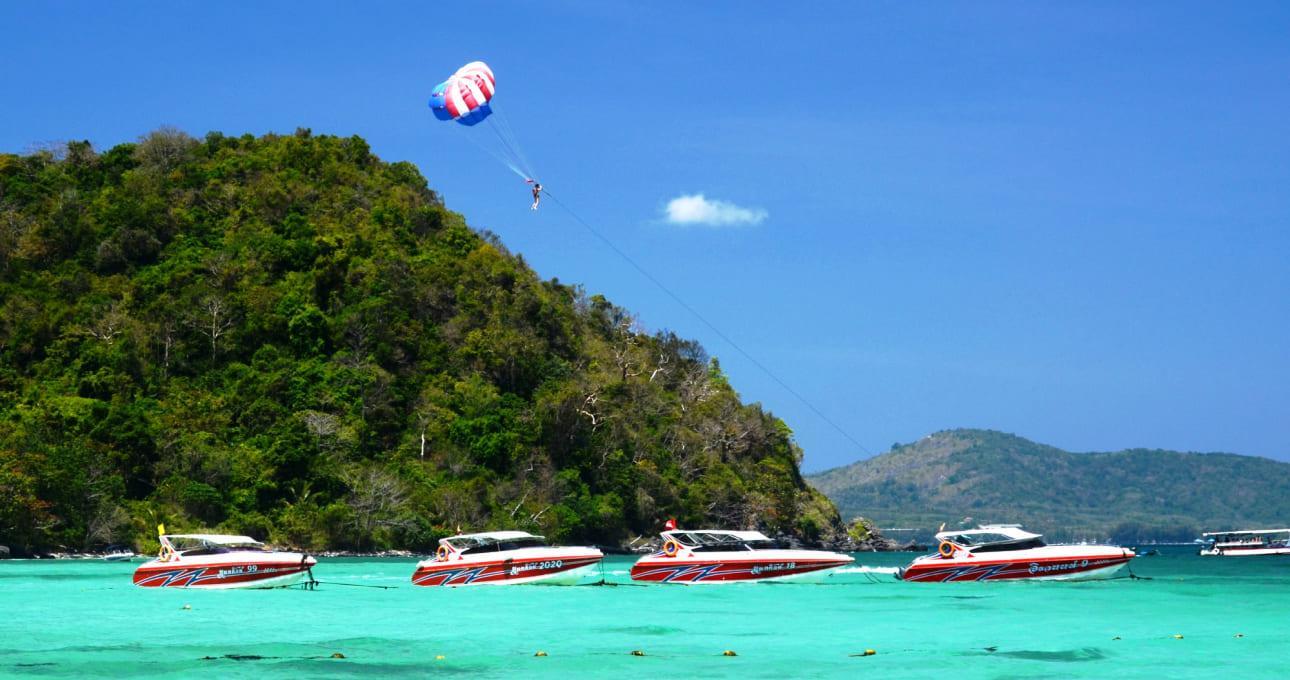 Фото развлечений на островах Рача