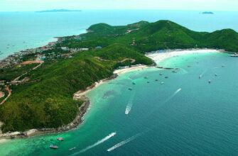 Фото острова Ко Лан в Таиланде