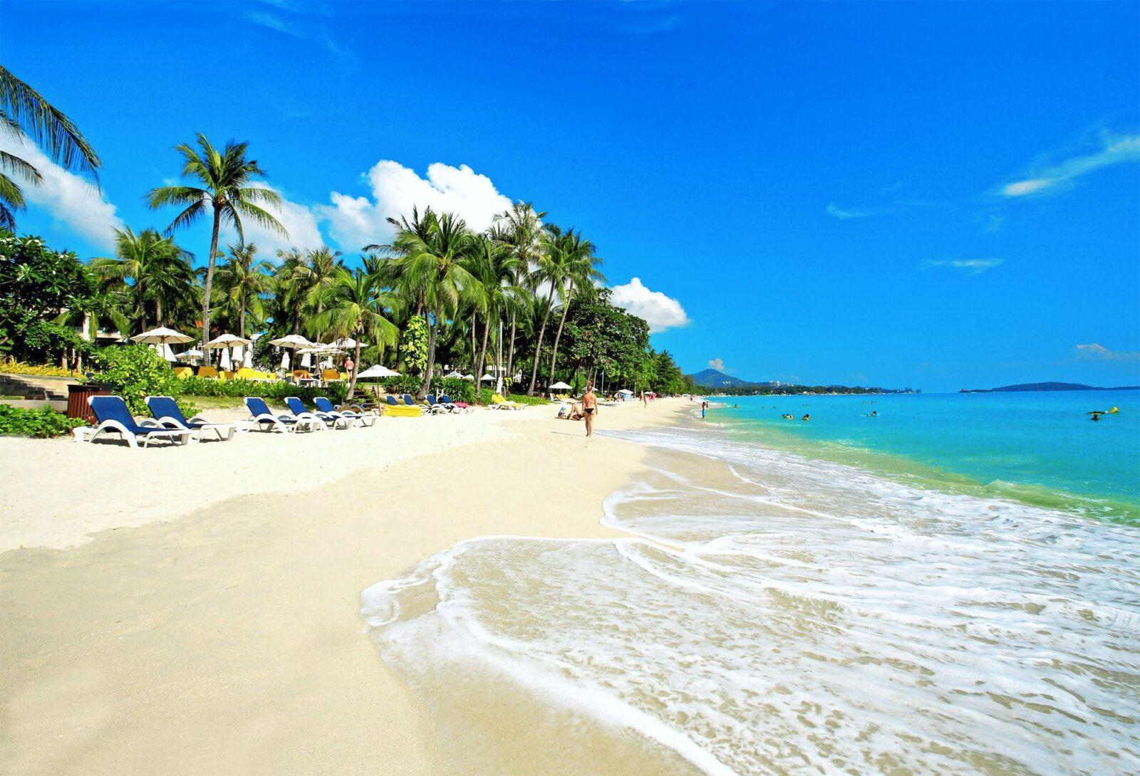 Фото пляжа на Самуи