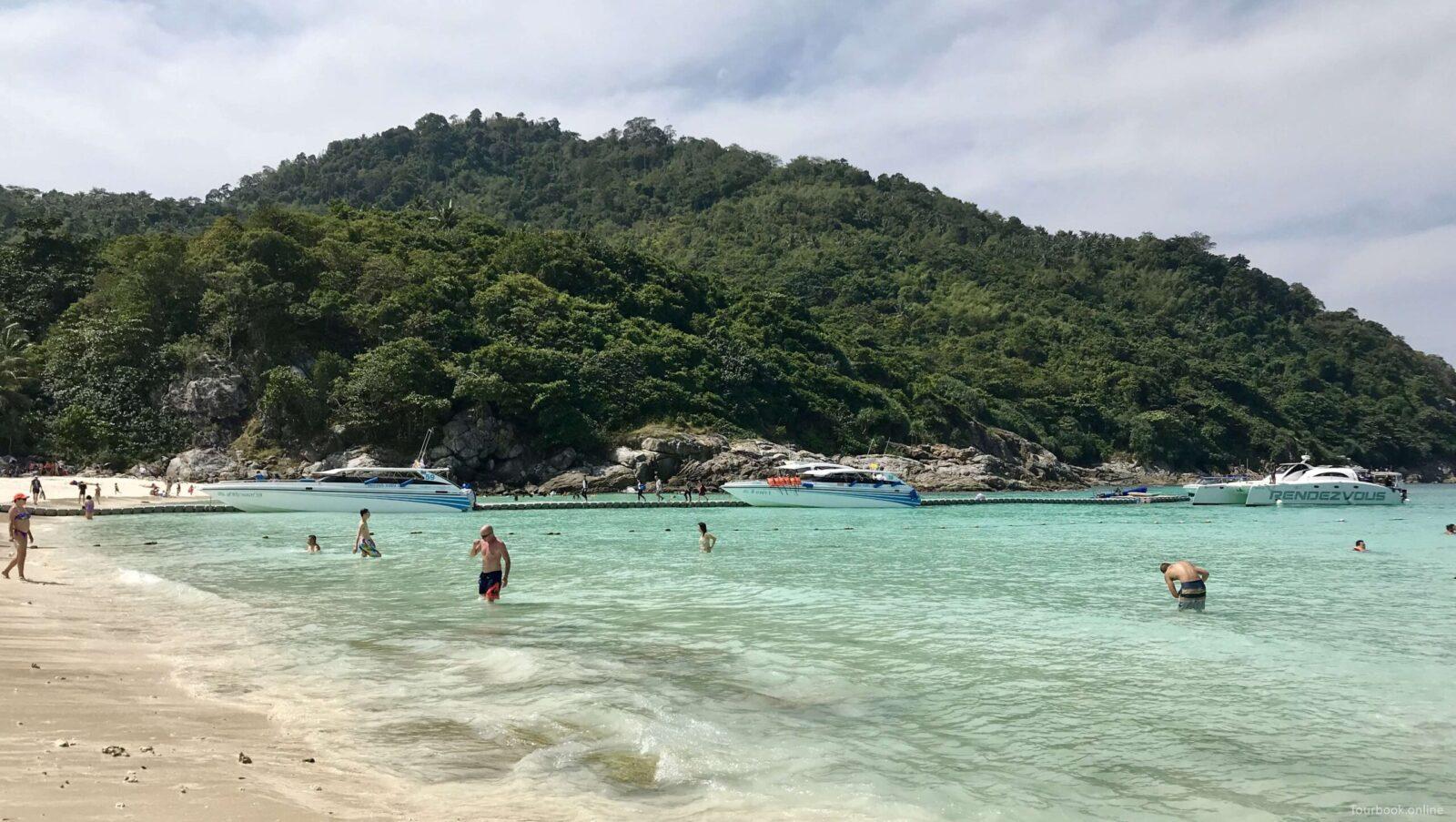 Фото пляжа на островах Рача