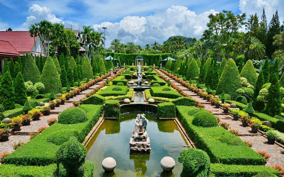 Фото парка в Паттайе