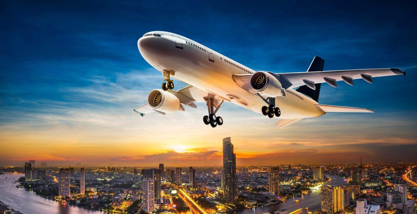 Фото самолета в Таиланд