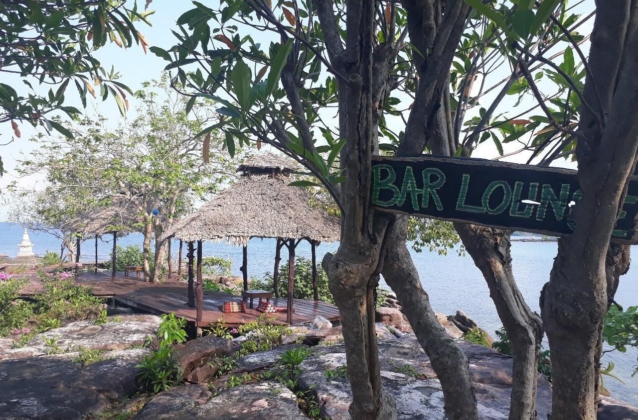 Фото бара на острове