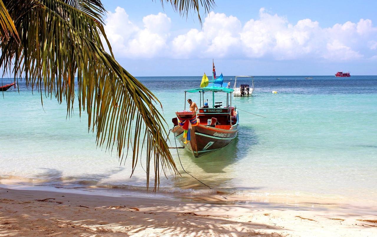 Фото лодки на острове Ко Куд