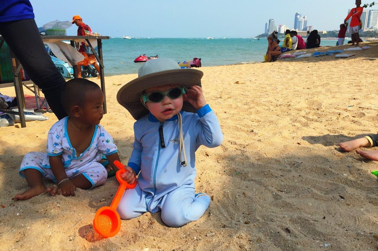 Фото детей на пляже