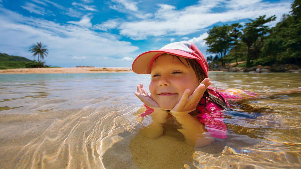 Фото ребенка на Пляже