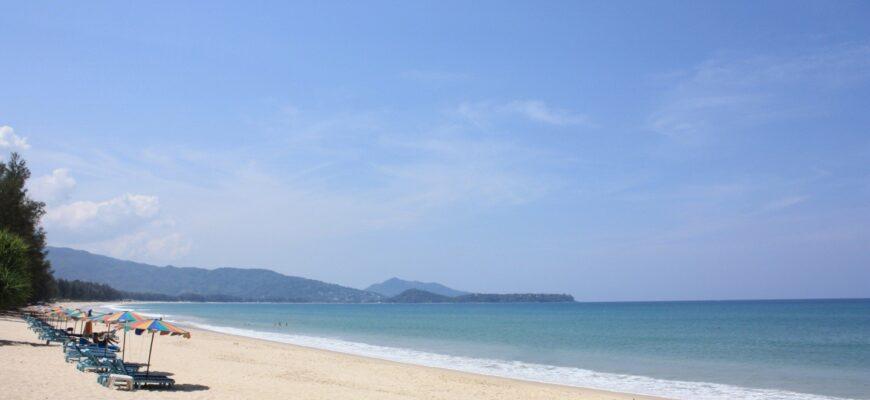 Фото пляжа в Пхукете